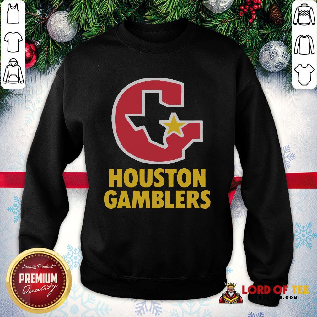 Perfect Houston Gamblers SweatShirt