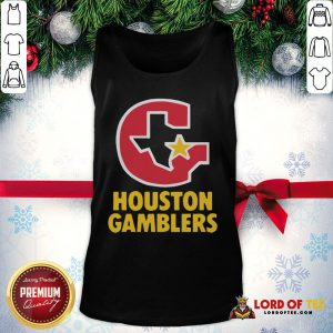 Perfect Houston Gamblers Tank Top