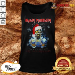Perfect Iron Maiden Tell Me Why I Want To Be Santa A Claus Tank Top