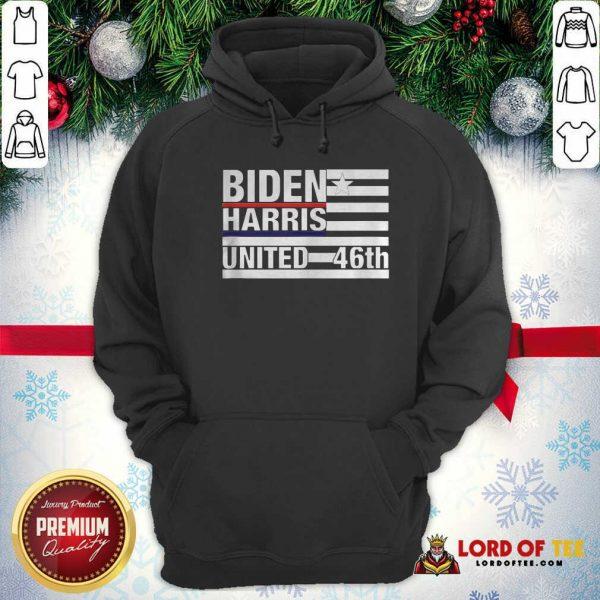 Joe Biden Kamala Harris 2020 46th President Hoodie