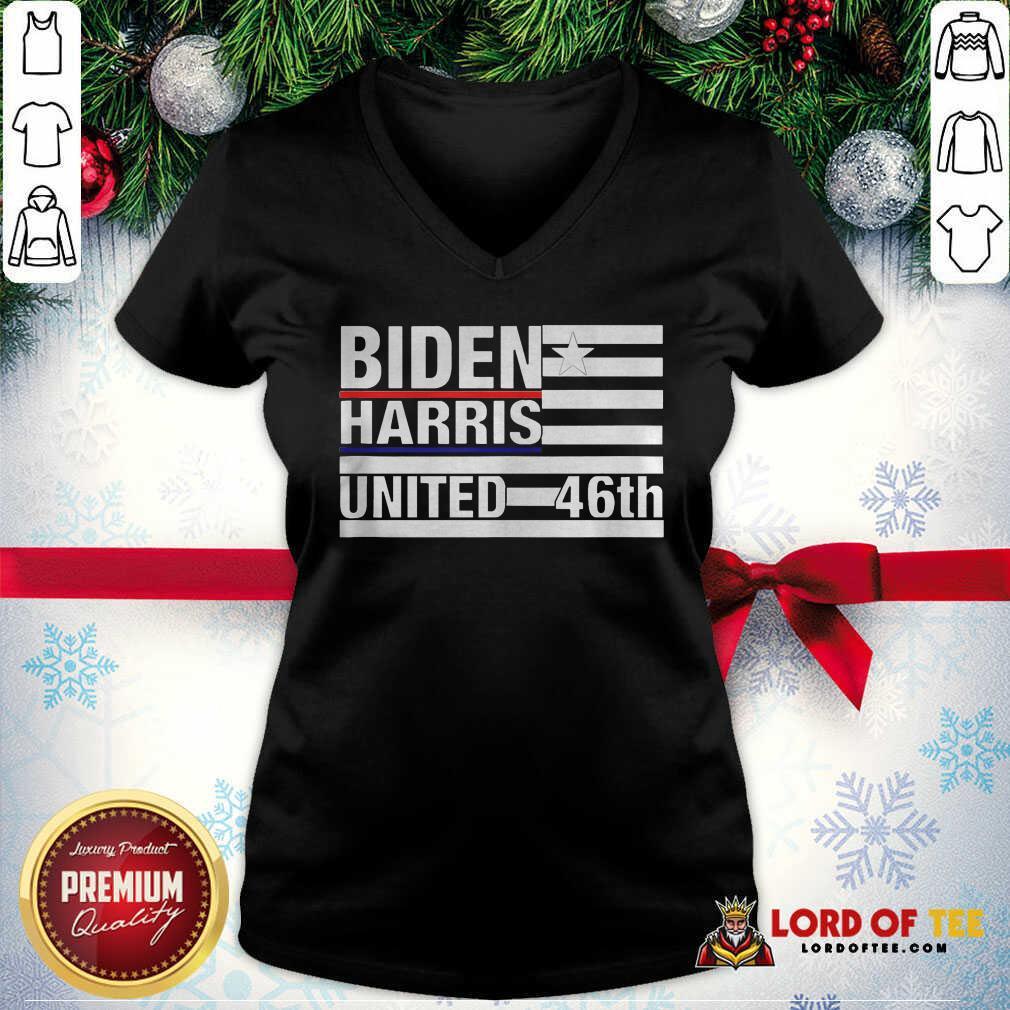 Joe Biden Kamala Harris 2020 46th President V-neck