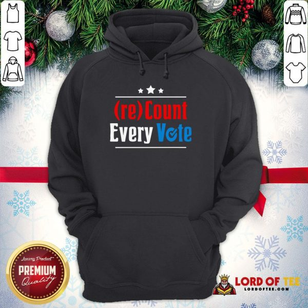 Perfect (re)Count Every Vote Election 2020 Sarcastic Hoodie