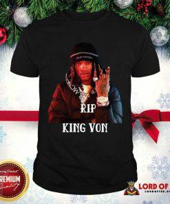 Perfect Rip King Von Shirt