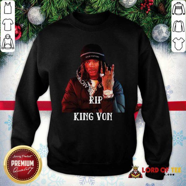 Rip King Von SweatShirt