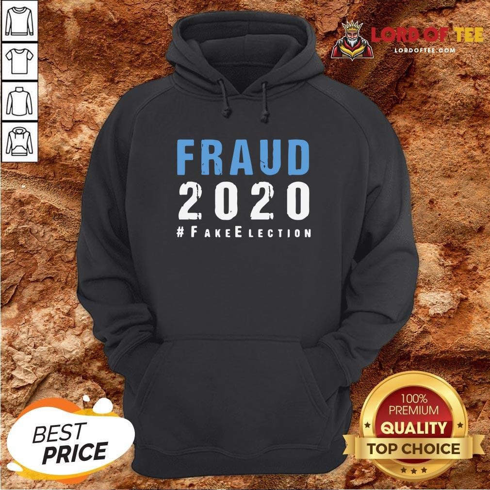 Perfect Voter Fraud Rigged Stolen Election 2020 Hoodie