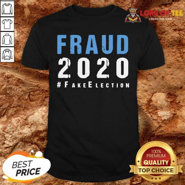 Perfect Voter Fraud Rigged Stolen Election 2020 Shirt