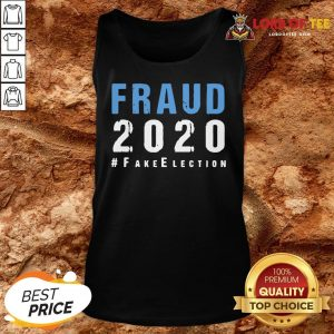 Perfect Voter Fraud Rigged Stolen Election 2020 Tank Top
