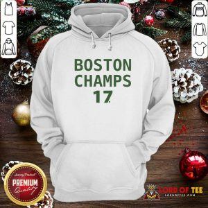 Boston Champion 17 Hoodie