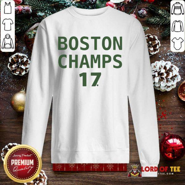 Boston Champion 17 SweatShirt