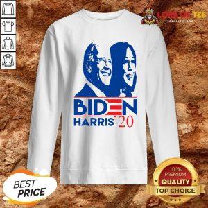 Premium Joe Biden Kamala Harris 2020 Election Democrat Liberal SweatShirt