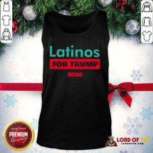 Premium Latinos For Trump 2020 Tank Top