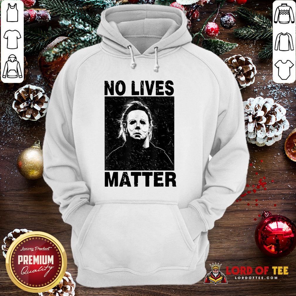 Premium Michael Myers No Lives Matter Hoodie