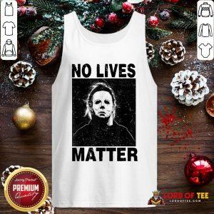 Premium Michael Myers No Lives Matter Tank Top