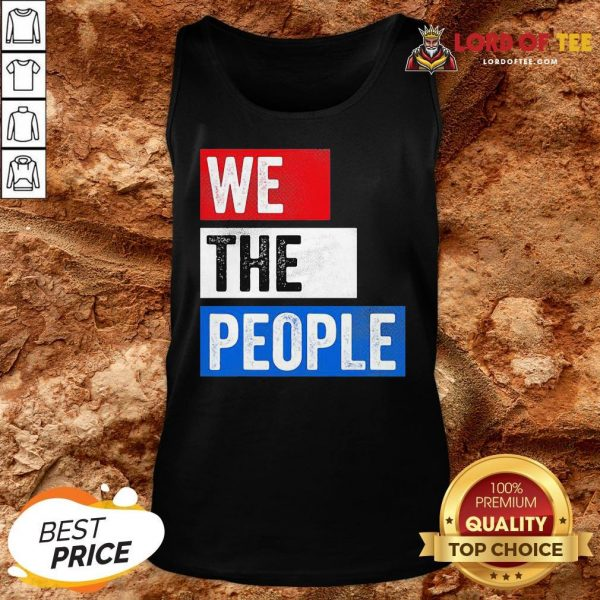 Premium We The People Election Tank Top