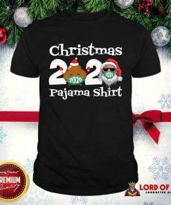 Christmas 2020 Poop Face Mask Pajama Shirt