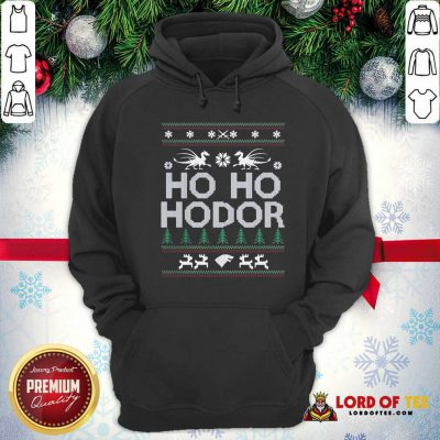Ho Ho Hodor Toothless Merry Christmas Hoodie - Design By Lordoftee.com