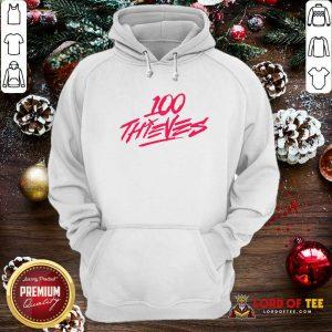 Los Angeles 100 Thieves Hoodie