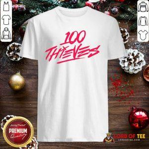 Los Angeles 100 Thieves Shirt
