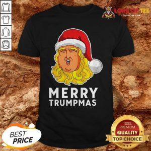 Pretty Merry Trumpmas Funny Xmas Gift 2020 Classic Shirt