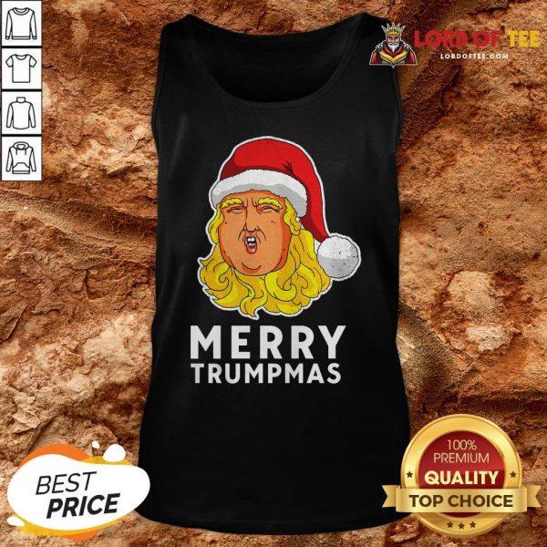 Pretty Merry Trumpmas Funny Xmas Gift 2020 Classic Tank Top