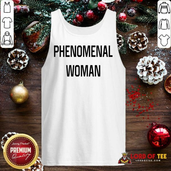 Phenomenal Woman Tank Top