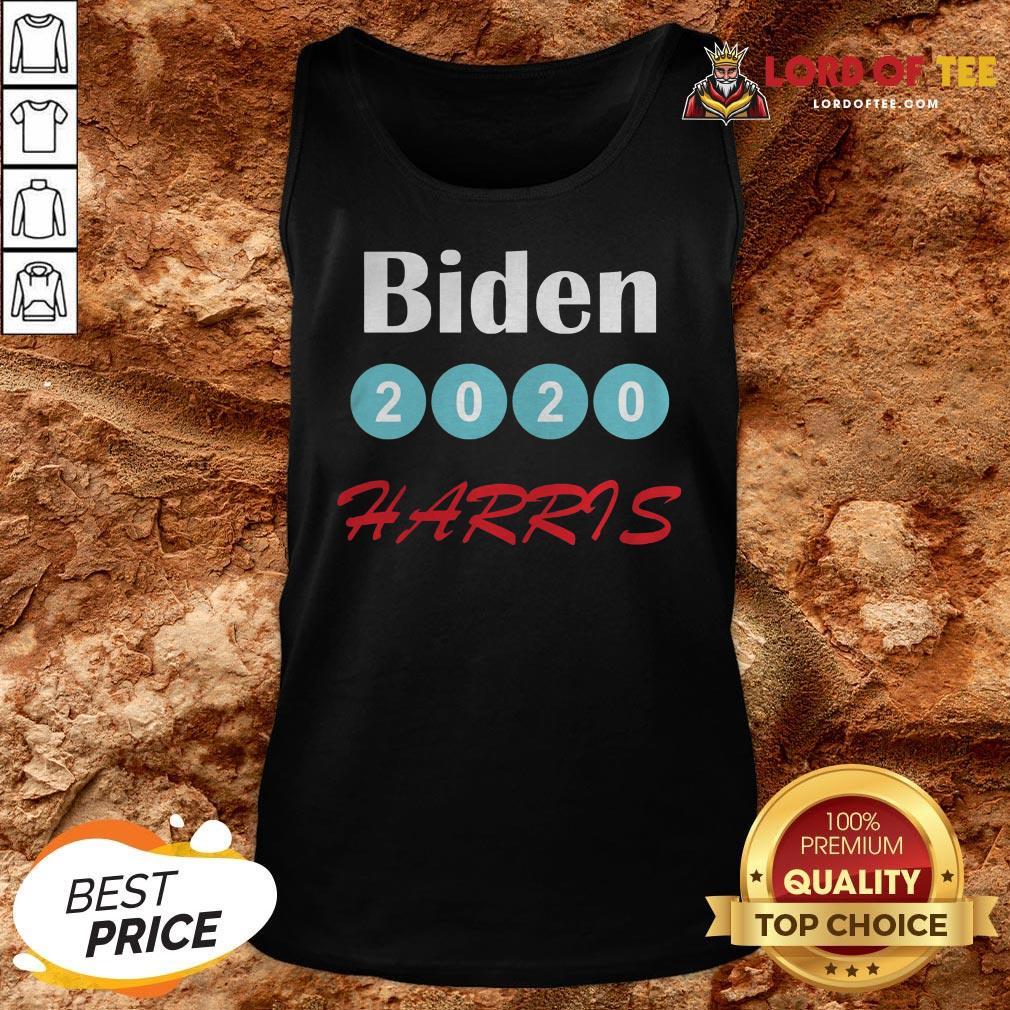 Top Biden Harris 2020 Election Tank Top