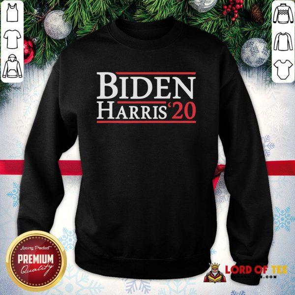 Top Biden Harris 2020 TShirt Democrat Elections President Vote SweatShirt