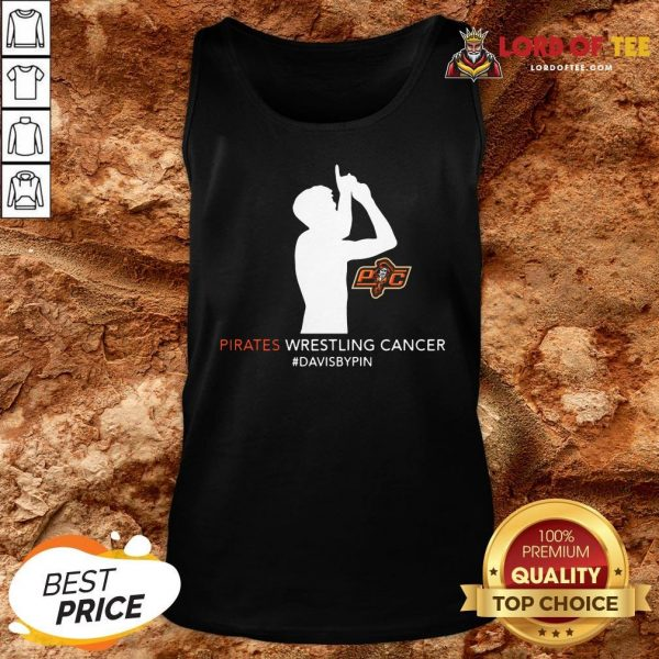 Top Pirates Wrestling Cancer Dababy Pin Tank Top