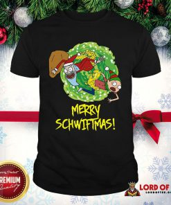 Top Rick And Morty Merry Schwiftmas Ugly Christmas Shirt