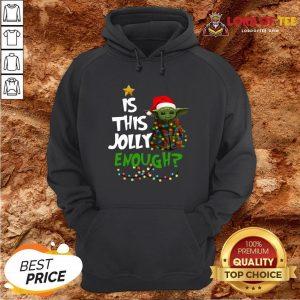 Top Santa Baby Yoda Is This Jolly Enough Christmas Hoodie