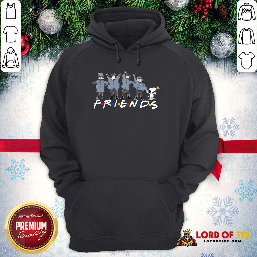 Top Snoopy And Woodstock Friends Character Hoodie