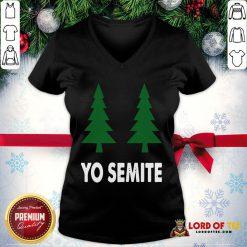 Official Yo Semite Shirt Trump Yosemite 2020 V-neck