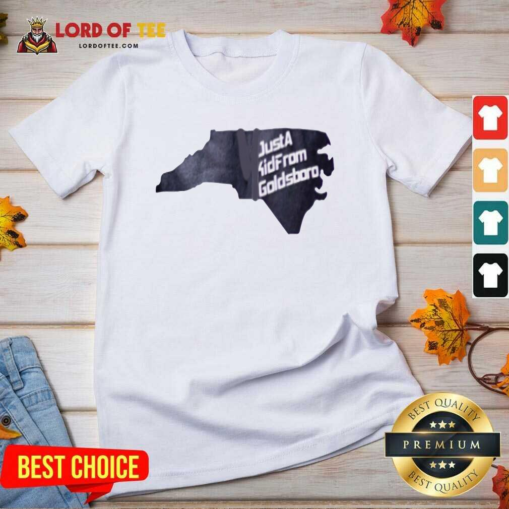 Just A Kid From Goldsboro V-neck - Desisn By Lordoftee.com