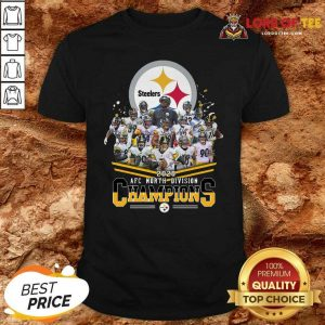 Pittsburgh Steelers 2020 Afc North Division Signatures Shirt - Desisn By Lordoftee.com