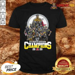Pittsburgh Steelers Afc North Division Champions 2020 Signatures Shirt - Desisn By Lordoftee.com