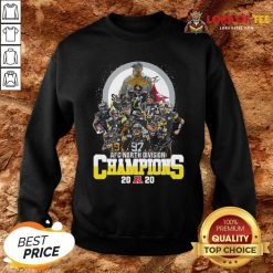 Pittsburgh Steelers Afc North Division Champions 2020 Signatures Sweatshirt - Desisn By Lordoftee.com