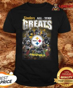 Pittsburgh Steelers Team Football All Time Greats Signatures Shirt - Desisn By Lordoftee.com