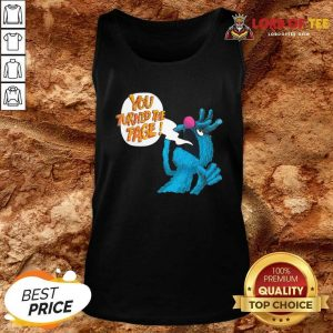Puppet Monster You Turned The Page Tank Top - Desisn By Lordoftee.com