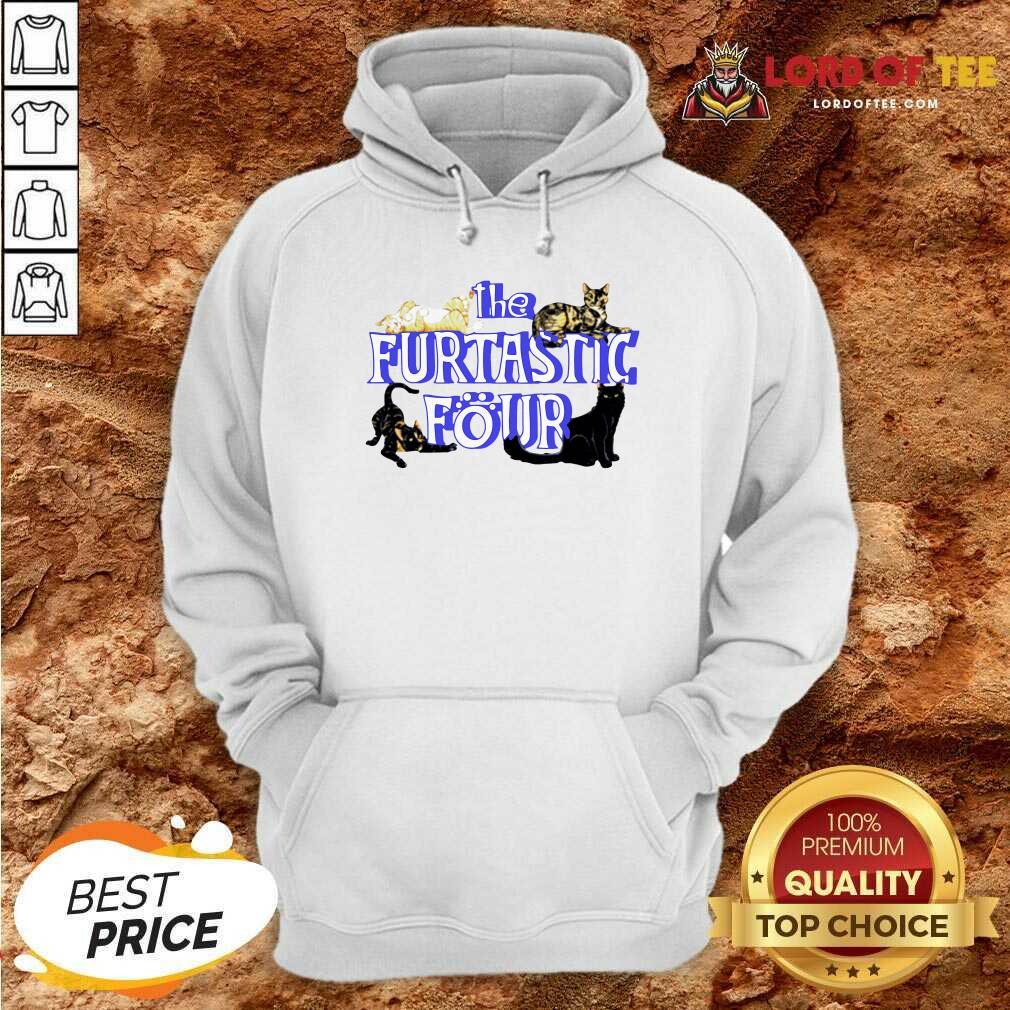 Cats The Furtastic Four Hoodie - Desisn By Lordoftee.com