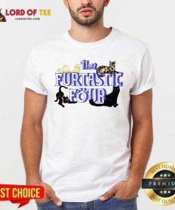 Cats The Furtastic Four Shirt - Desisn By Lordoftee.com