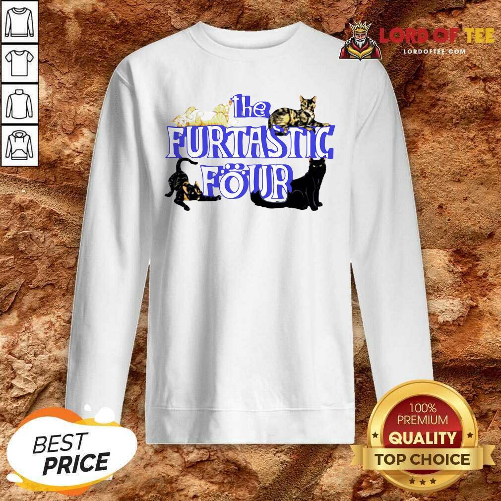 Cats The Furtastic Four Sweatshirt - Desisn By Lordoftee.com