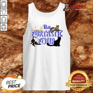 Cats The Furtastic Four Tank Top - Desisn By Lordoftee.com