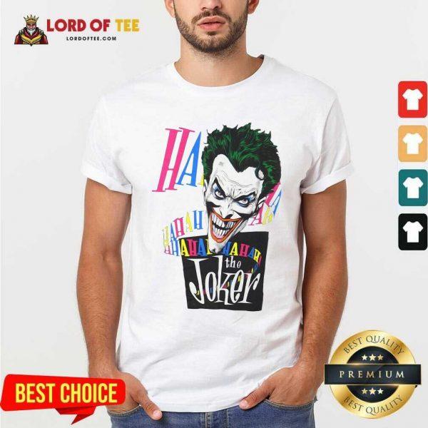 DC Joker Large Brian Bolland Art White 1987 Vintage Shirt - Desisn By Lordoftee.com