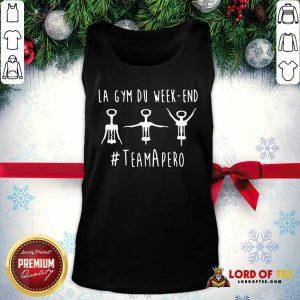 La Gym Du Week-end #TeamApéro Tank Top - Desisn By Lordoftee.com