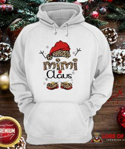 Leopard Mimi Claus Ugly Christmas Hoodie-Design By Lordoftee.com