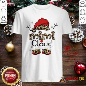 Leopard Mimi Claus Ugly Christmas Shirt-Design By Lordoftee.com