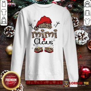 Leopard Mimi Claus Ugly Christmas Sweatshirt-Design By Lordoftee.com