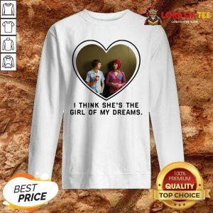 Michael Cera And Mary Elizabeth I Think Shes The Girl Of My Dreams Sweatshirt - Desisn By Lordoftee.com