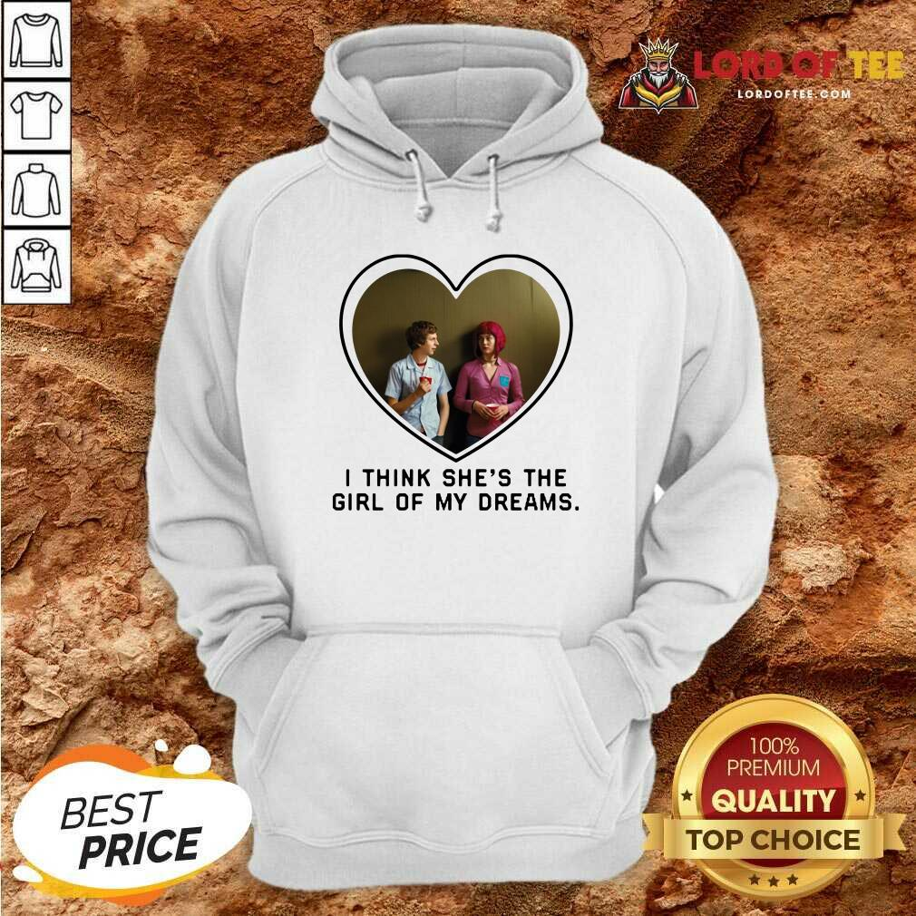 Michael Cera And Mary Elizabeth I Think Shes The Girl Of My Dreams Hoodie - Desisn By Lordoftee.com