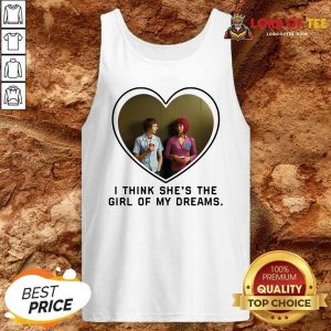 Michael Cera And Mary Elizabeth I Think Shes The Girl Of My Dreams Tank Top - Desisn By Lordoftee.com